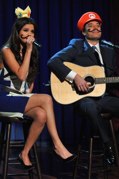 Letterman comentó a Selena que la última vez que Justin acudió al show l...
