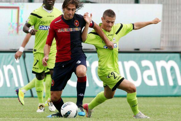 Otro equipo que aspiraba al primero puesto era el Udinese, que enfrentó...