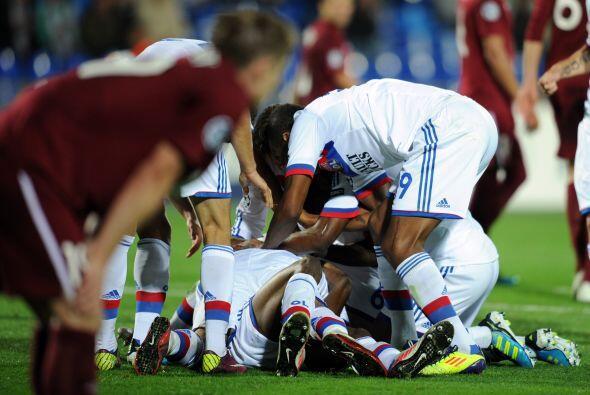 Hasta que apareció Babary Kone para darle el empate al Lyon y terminar p...