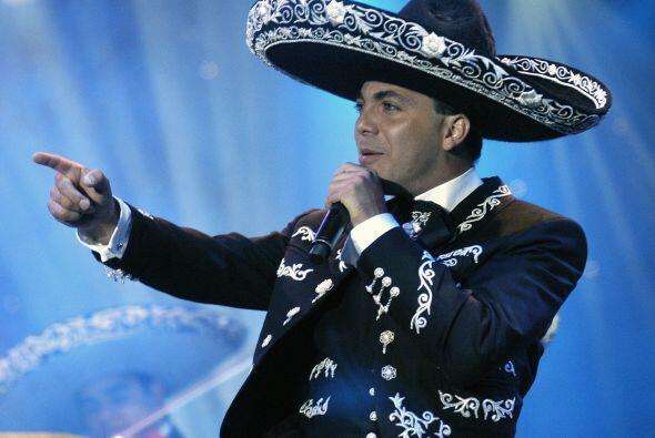 Cristian Castro vistió de charro por primera vez en el 2007 para interpr...