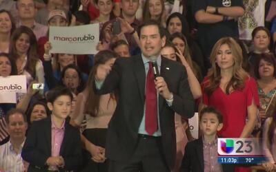 Marco Rubio seguirá su campaña política pese a derrotas