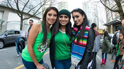 La belleza se hizo presente en el Canadá vs. México