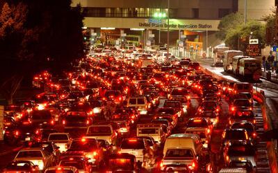 El tráfico intentaba entrar a Estados Unidos desde Tijuana, México, el 1...