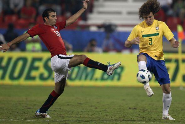 Brasil mantenía la portería en ceros como en el encuentro anterior contr...