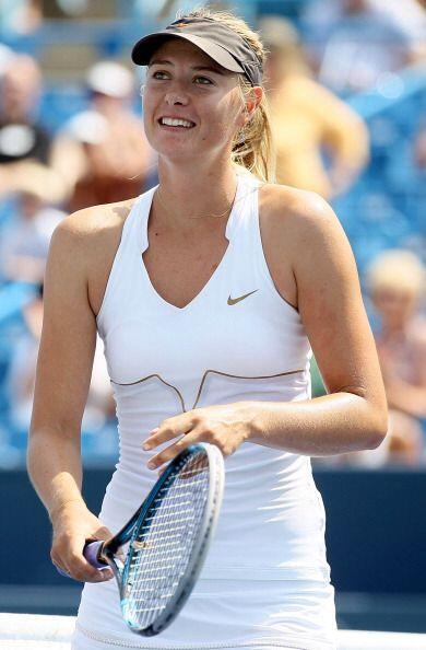 A pesar de llegar en el tercer puesto de la competencia, Maria Sharapova...
