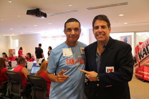 Richard Silva es uno de los oyentes que compartió con el equipo d...