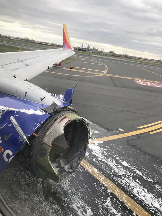 Avión Accidentado Philadelphia