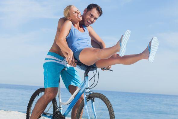 Tener una rutina de bicicleta, correr al menos 30 minutos al día...