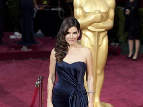 Sandra Bullock llega a la 86 ª ceremonia anual de los Premios Oscar...