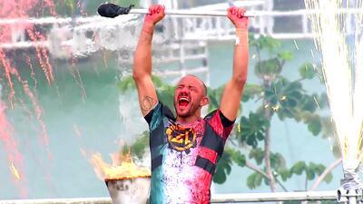 'El Rasta' es el gran campeón de Reto 4 Elementos: esta reñida (y última) competencia contra Mónica Gómez lo hizo ganador