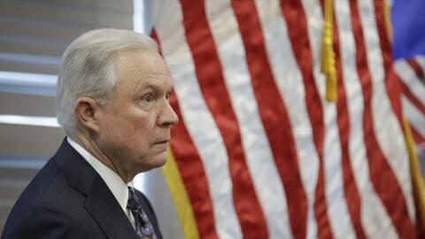 Jeff Sessions, secretario de Justicia de EEUU