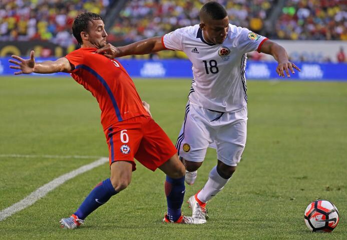 El ranking de los jugadores de Colombia vs Chile GettyImages-542231742.jpg