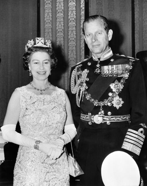 La Reina Isabel II a través de los años.