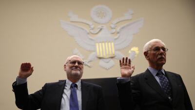 Los jueces Sidney Thomas y Carlos Bea del Tribunal de Apelaciones del No...