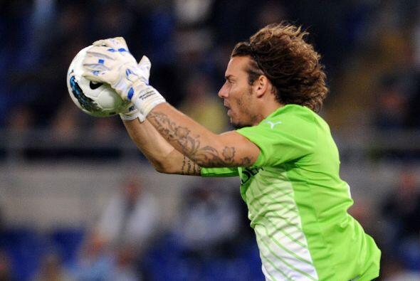 El portero de las 'Águilas' italianas mantuvo su arco sin  recibir gol a...
