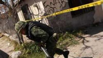 Diez personas murieron en dos incidentes ocurridos en el norte de México...