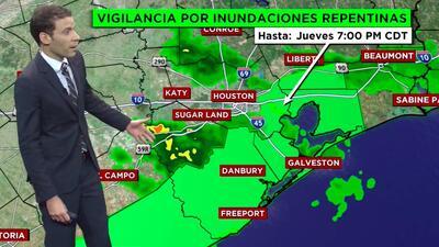 Alerta en el tiempo: Emiten vigilancia por inundaciones repentinas en condados costeros
