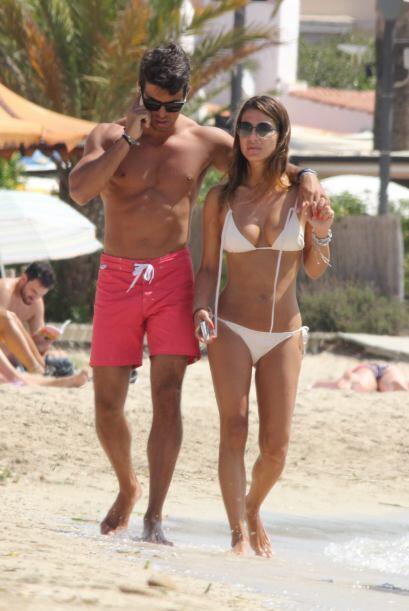 Seguro que con su ex, el cantante David Bisbal, con quien Elena mantiene...