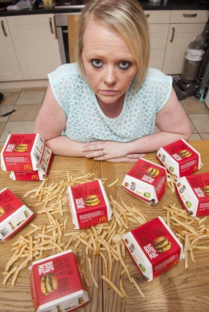 Comenzó a consumir hamburguesas en McDonalds para refugiarse de la situa...
