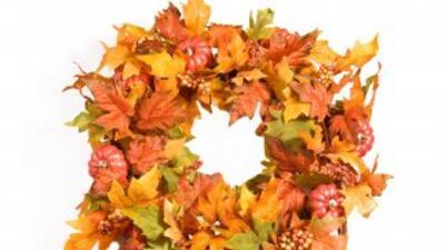 Viste la puerta de tu hogar para el otoño, creando tú misma una de estas...