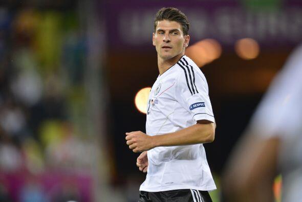 Mario Gómez del Bayern Munich. Otro jugador que ya ha sido vinculado con...