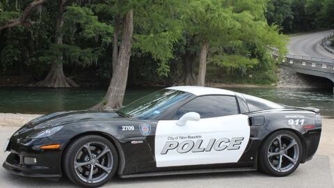 New Braunfels PD gets a new police cruiser