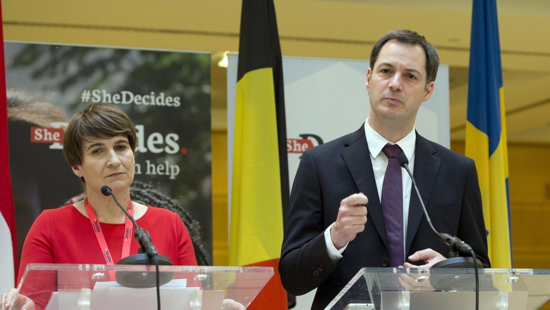 El Vicepresidente y Ministro de Desarrollo y Cooperación Exterior de Bél...