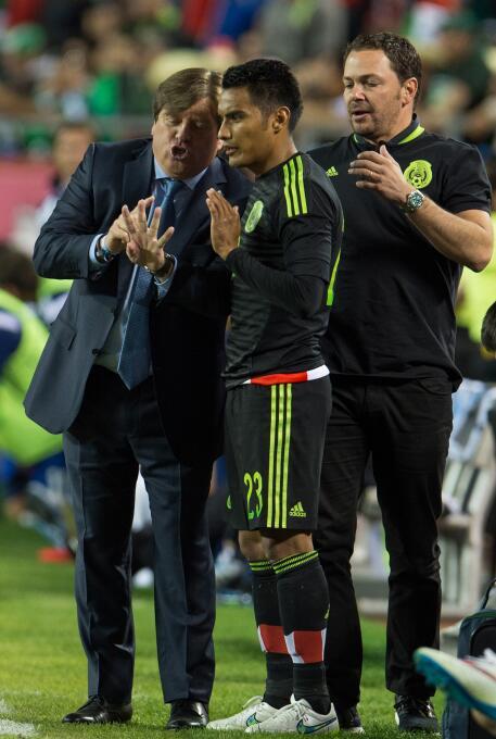 México vs. Costa Rica amistoso 2015