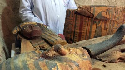 Descubren en Egipto una tumba de 3,000 años de antigüedad