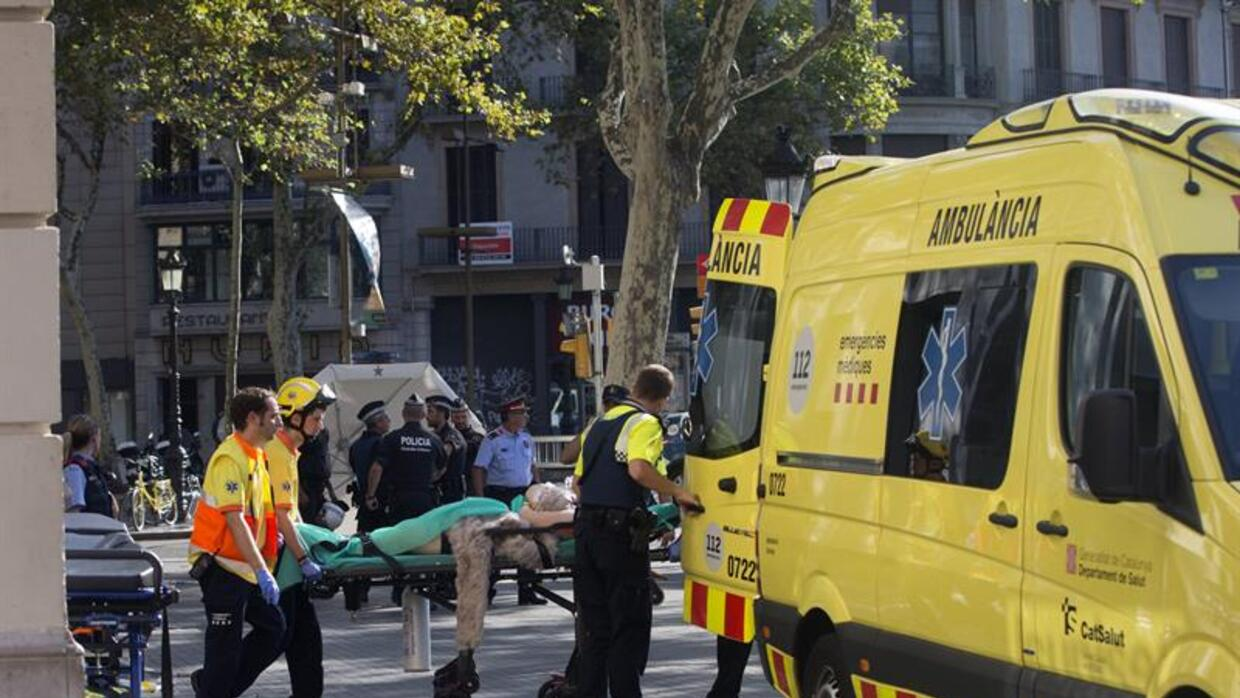 Atropello masivo en Barcelona