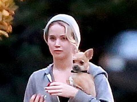La actriz Jenniffer Lawrence es una mamá muy consetidora como lo...