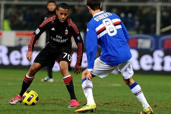 Milan intentó pero no pudo llegar al triunfo, empató 1 a 1 frente a la S...