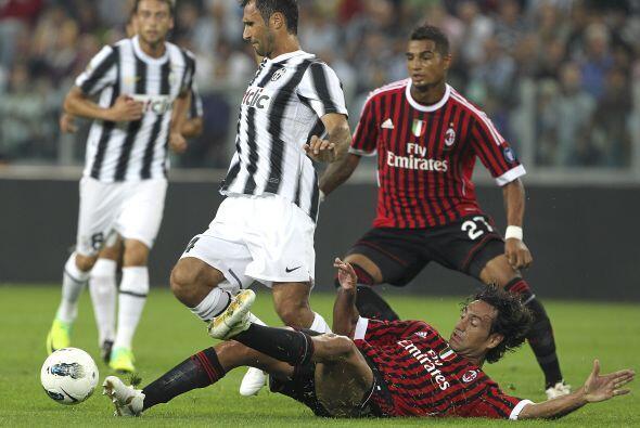 la 'Juve' ya quería convertir un gol.