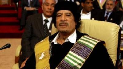 Muamar Gadafi murió el pasado 20 de octubre en Sirte a manos de los rebe...