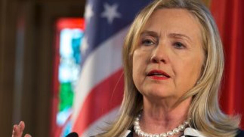 Hilary Clinton habla de su posible candidatura en 2016.