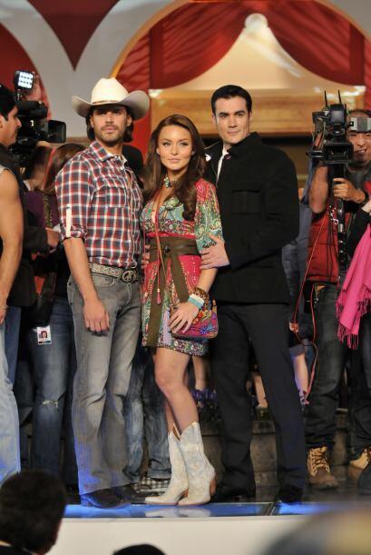La última telenovela que protagonizó Angelique Boyer fue &...