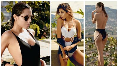 El encanto de Cristina Camargo: modelo, empresaria y fanática del campeón de América