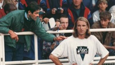 Patrik Sjoeberg aseguró que su padrastro y entrenador Viljo Nousiainen (...