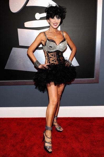 Una chica que llevó 'look' a la Black Swan fue Nadeea. ¿Será que de verd...