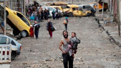 Los reporteros de la guerra en Mosul cuentan las historias detrás de sus fotografías