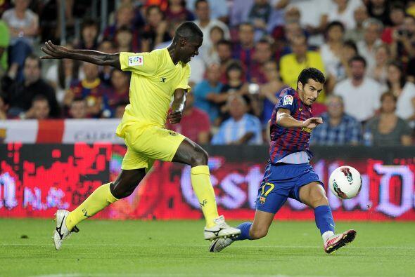 La Liga española vivió el debut de su actual campeón, el Barcelona.