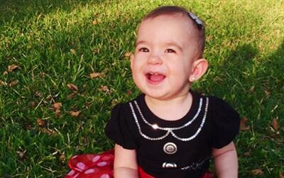 Ya da sus primeros pasitos: Baby Michelle ya quiere caminar