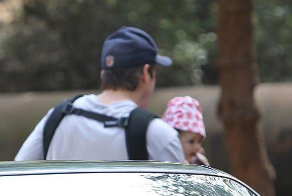 El actor planeaba irse a caminar con su nenita.