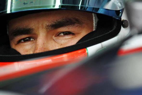 Este joven piloto mexicano ha impresionado a la Fórmula 1 por su madurez...