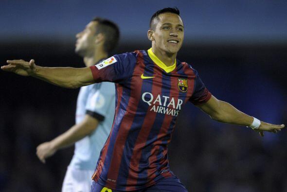 Con sólo nueve minutos jugados, Sánchez colocaba el 1-0.