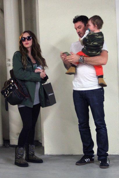 Otro chiquitín 'army' fue el hijo de la afamada Megan Fox. Seguramente e...