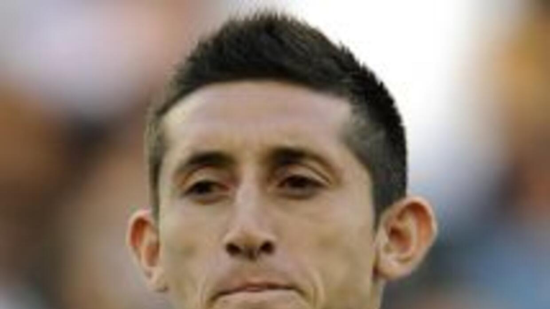Herrera, ex jugador del Pachuca, disputó como titular junto a Diego Reye...
