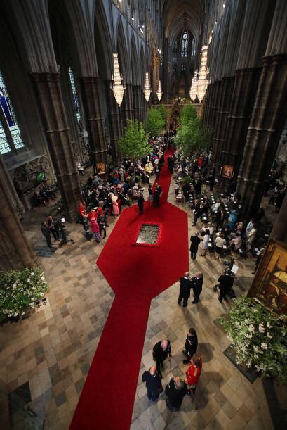 Imponente imagen de la Abadía de Westminster.