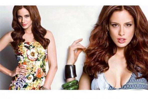 Con su hermoso rostro muchas revistas de moda y belleza le ofrecen ser s...