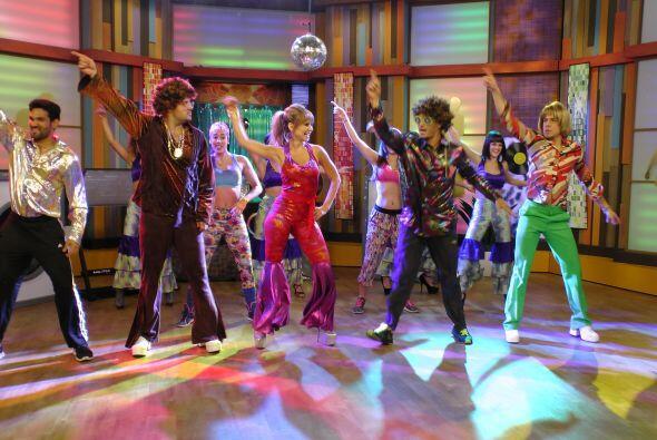Todos nos volvimos parte de la fiesta y bailamos al estilo 'Saturday Nig...